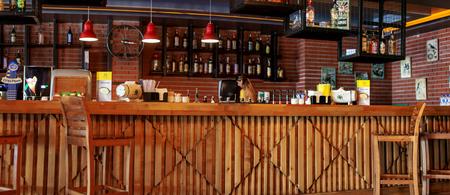 Bar and desk Redactioneel