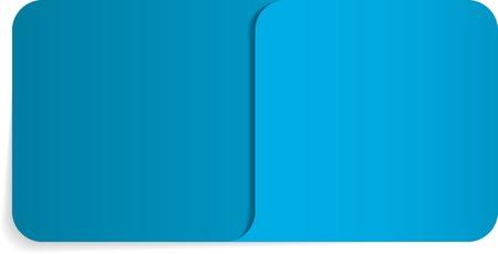 Vector illustration of folder or envelope with special corner for documents Ilustração
