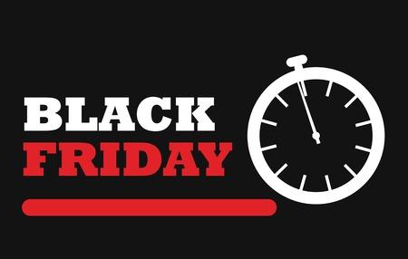 Black friday special offers background Ilustração