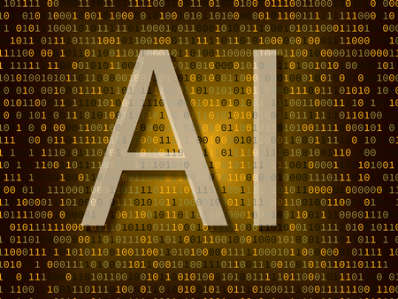 Artificial intelligence over binary background