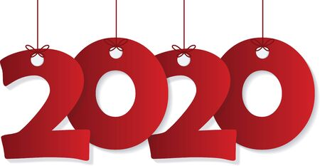 2019 Happy new year creative design background Banque d'images - 129656672