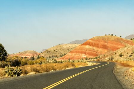 Access road to Painted Hills, Wheeler County