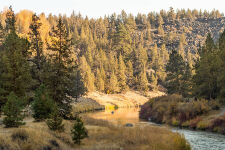 Crooked River as it passes Smith Rock State Park