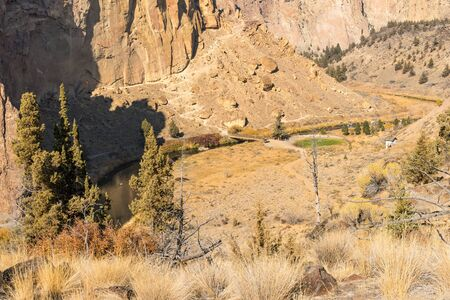 One of the hiking trails through Smith Rock State Park, Terrebonne