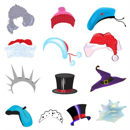 Set hat caps