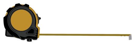 metro de medir: La cinta m�trica.  Vectores