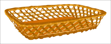empty basket: Empty basket Illustration