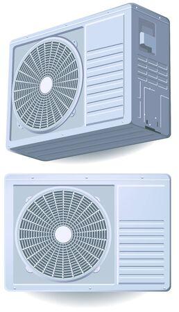 feltételek: Légkondicionáló Illusztráció