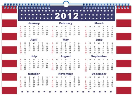 chronology: The calendar USA 2012