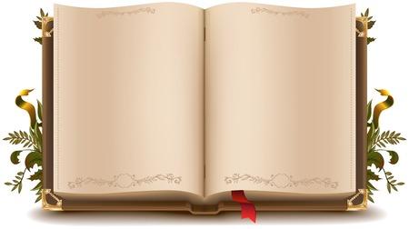Vieux livre ouvert Banque d'images - 31063793