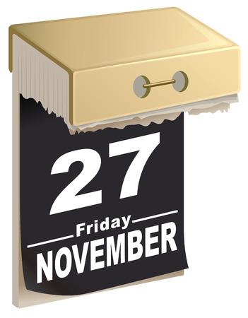 27: November 27, 2015 Black Friday time of great sales