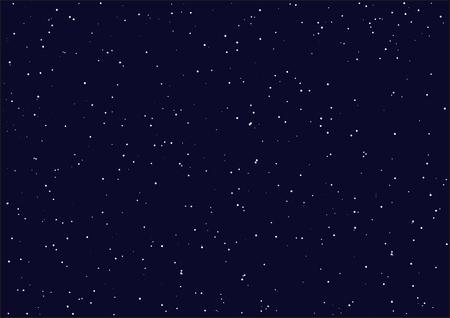 Night starry sky. Seamless background. Illustration in vector format Иллюстрация