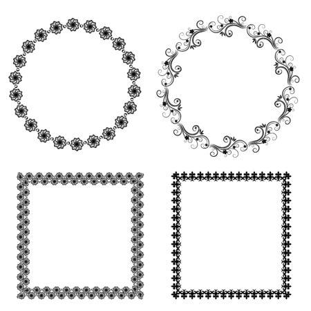 decorative frames Illustration