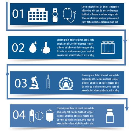 medicine infographics. Vector