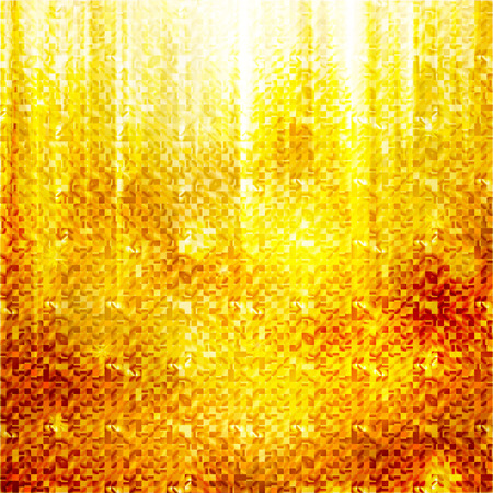 festive gold background. Vector Ilustração