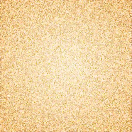 golden shine glitter background. Vector illustration Ilustração