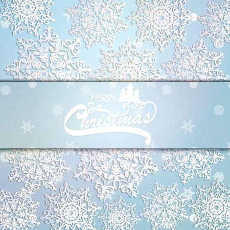 christmas background, card. Vector illustration Ilustração