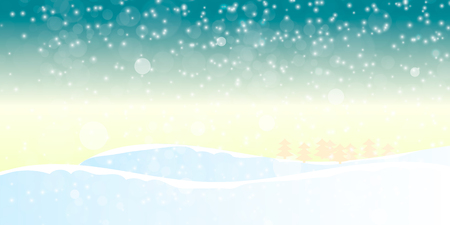 christmas background with snowflakes. Vector