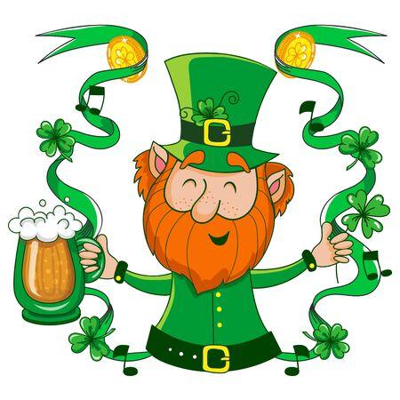Leprechaun. St. Patricks Day Stock Vector - 69584125