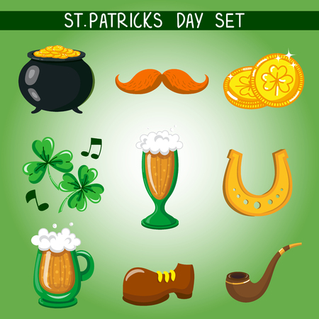 cup four: Set of St. Patricks Day