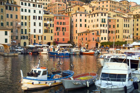 Camogli small town in Liguria in Italy, Porto photo