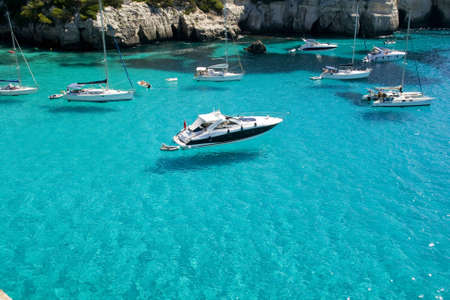 menorca: Sailing Stock Photo