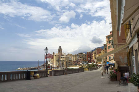 small fishing village in Liguria
