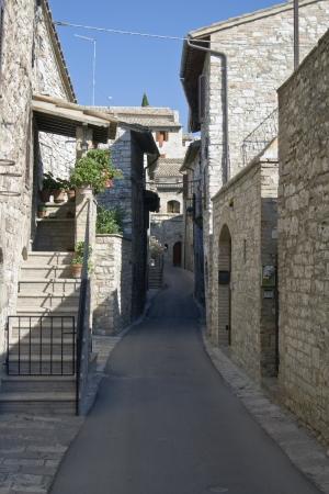 spello: Spello beautiful medieval resort Stock Photo