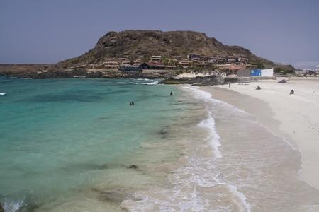 Boavista beautiful and wild island of cape verde Stock Photo