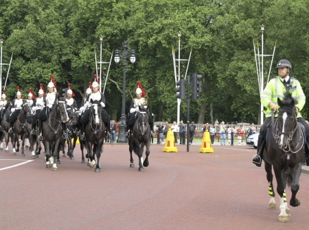 The Household Cavalry Mounted Regiment (HCMR) is one of nine cavalry regiments of the British Army