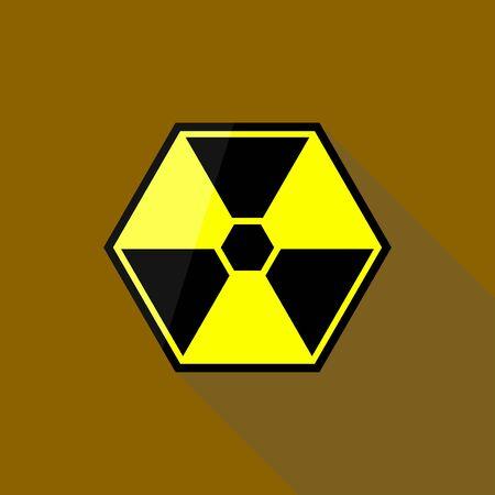 방사능의 징조 일러스트