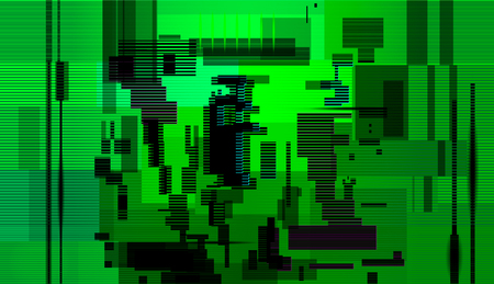 Glitch abstract background,Computer screen error, Digital pixel noise abstract design, Technical problem grunge wallpaper. Vector illustration