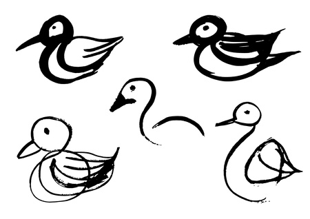 Bird sketches Stock Vector - 20284529