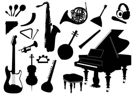 string instrument: Set of music instruments