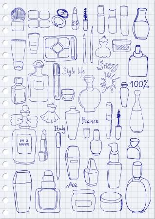 lipstick tube: Cosmetics