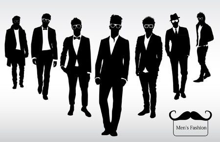 Men s fashion Vector