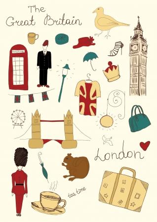 cabina telefonica: Objetos coloreados Londres