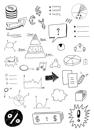 Business sketches Vector