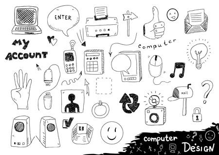 Computer design Vector