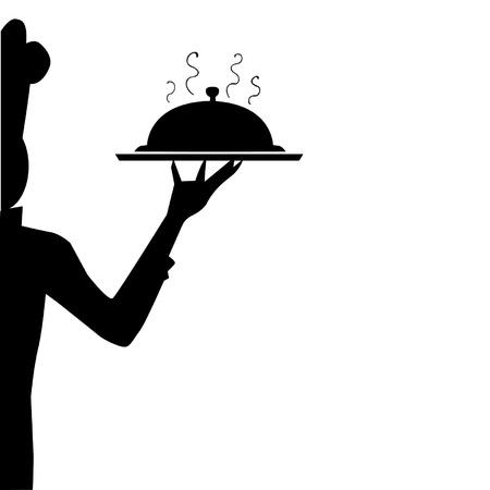 Chef silhouette Illustration