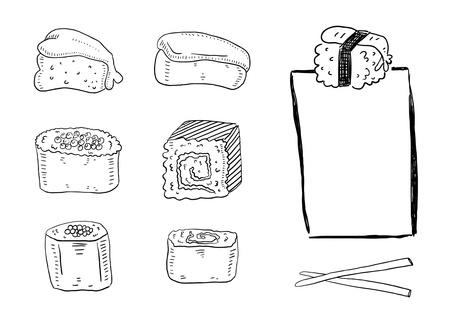 chopstick: Sushi set