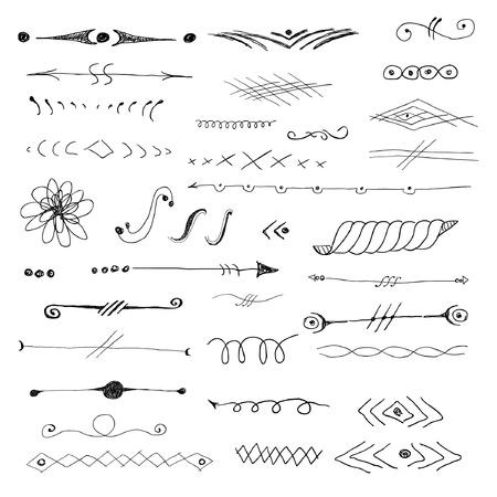 rule: Decorative elements Illustration