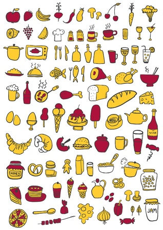 apple and honey: Food Icons