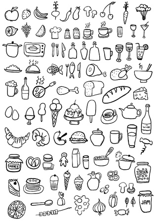 Food Icons Stock Vector - 22260552