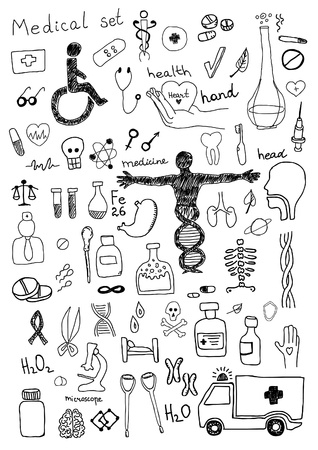 Medical Icons Stock Vector - 22229163
