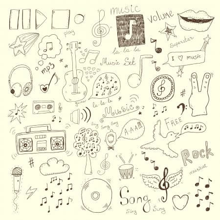 Recolección de muestras de la música