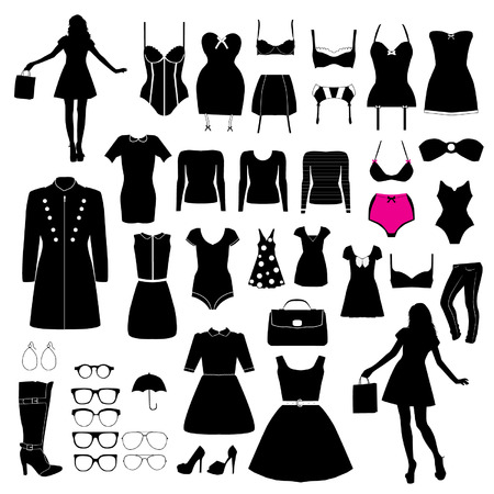 Clothes and accessory Vector