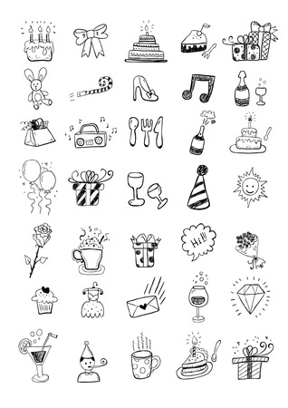 Party Set Stock Vector - 25117905