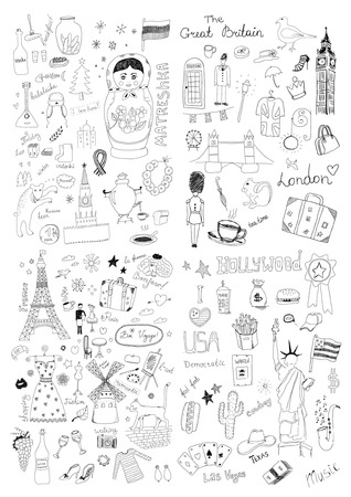 International symbols Vector