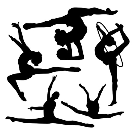 Gymnastics Illustration